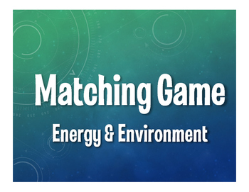 Spanish Energy and Environment Matching Game