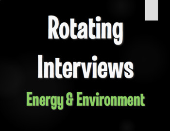 Spanish Energy and Environment Rotating Interviews
