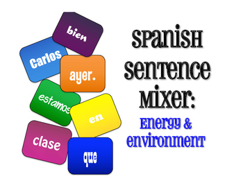 Spanish Energy and Environment Sentence Mixer