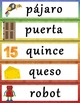 Spanish-English A-Z Word Wall