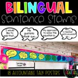 Spanish Accountable Talk Sentence Stems