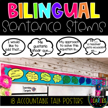 Spanish/English Accountable Talk Sentence Stems