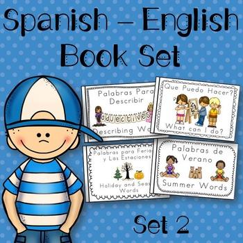 Spanish English Books Set 2