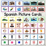 Spanish Word Cards - Spanish Flash Cards
