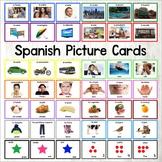 Spanish Word Cards - Spanish Flash cards