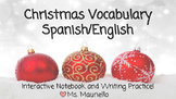Spanish/English Christmas Interactive Notebook