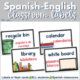 Spanish - English Classroom Labels