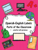 Spanish-English Classroom Labels