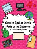 Spanish-English Classroom Labels