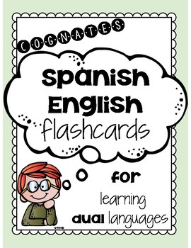 Spanish & English Cognate Flashcards