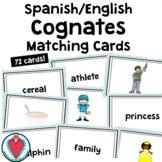 Spanish English Cognate Matching Cards - for  ESL ELL EFL