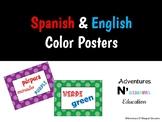 Spanish & English Bilingual Color Posters