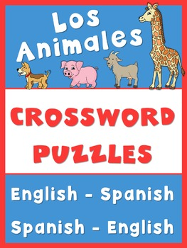 Spanish English Crossword Puzzles  Los animales