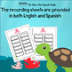 Dual Language Write The Room Quarter to and Quarter After