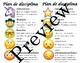 Spanish & English Emoji Clip Chart- Editable