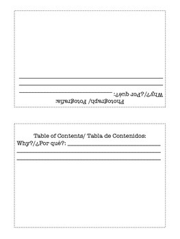 Spanish/ English Expository Features Booklet
