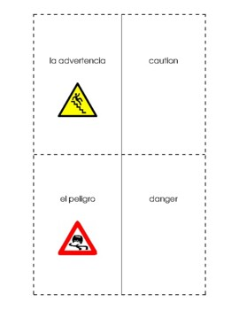 Spanish English Flashcards - La emergencia / The emergency