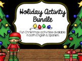 Spanish & English Holiday Activity Bundle