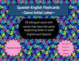 Spanish English Initial Consonant Flashcards - Emergent Bi