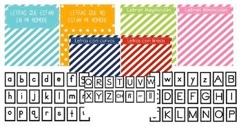 Spanish & English Letter Activities