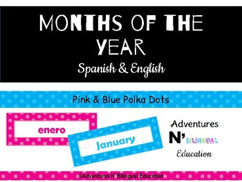 Spanish & English Months of the Year