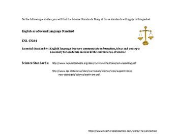 Spanish-English Science: Earth & Environmental ~ Scientific Method 2