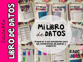 Spanish +English Student Data Binder