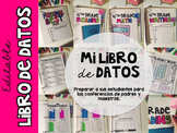 Spanish +English Student Data Binder