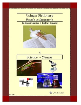 Spanish-English Using a Dictionary 4 ~ Science