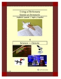 Using a Dictionary 4 ~ Science (Bilingual Spanish-English)