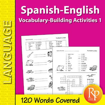 Spanish-English Vocabulary-Building Activities 1