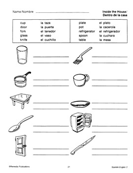 Spanish-English Vocabulary-Building Activities 2