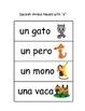 Spanish English Word Match