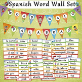 Spanish-English Word Wall Set