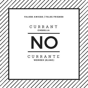 Spanish / English false friends cards 2