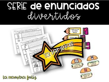 Spanish Read the Room: Enunciados divertidos/ Leer el salon.