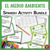 Spanish Environment Activity Bundle | El medio ambiente