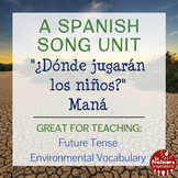 Spanish Environment Vocabulary | Future Tense | Song | Dón