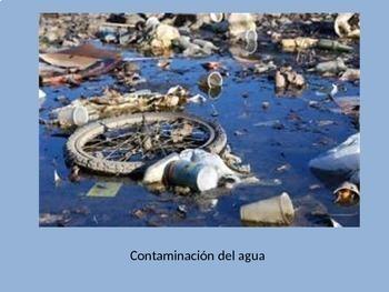 Spanish Environmental Problems Contaminacion Power Point
