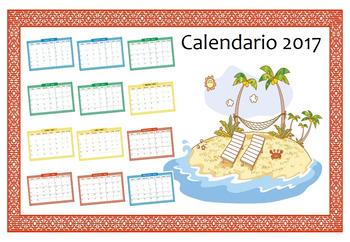 Spanish // Español -> Calendario Bundle (Incluye 4 packs)