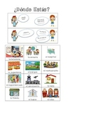 Spanish (Español) Language Development - Places and the Ve