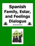 Spanish Family, Estar, and Feelings Skit - ¿Cómo Está Tu Familia?