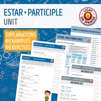 Spanish Estar + Participle Unit