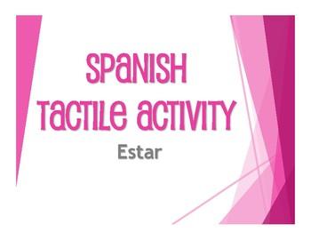 Spanish Estar Tactile Activity