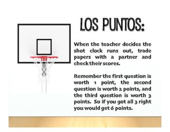 Spanish Estar With Emotions Basketball