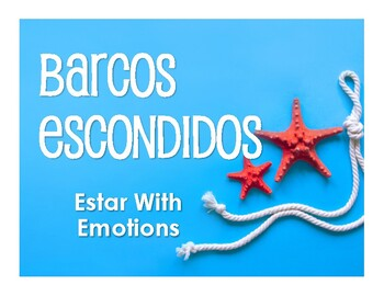 Spanish Estar With Emotions Battleship-Style Game