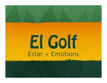 Spanish Estar With Emotions Golf