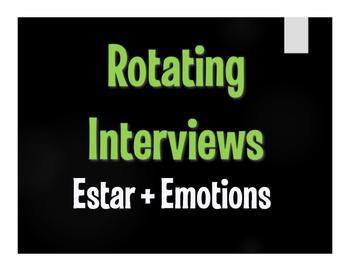 Spanish Estar With Emotions Rotating Interviews