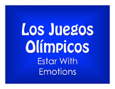 Spanish Estar With Emotions Olympics