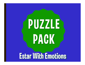 Spanish Estar With Emotions Puzzle Pack